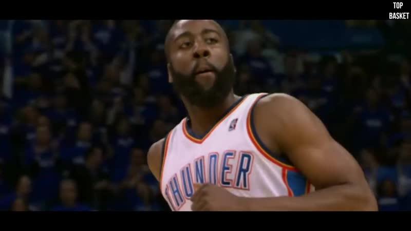 Top Basket - Джеймс Харден! Как из ленивого паренька харден превратился в MVP и короля стэп бэков?!
