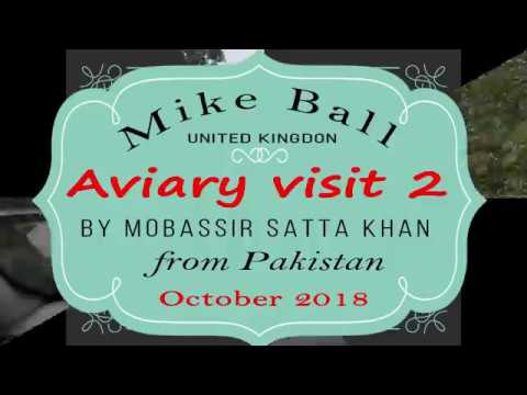 Aviary Visit to Mike Ball by Mobassir Sattar 2018