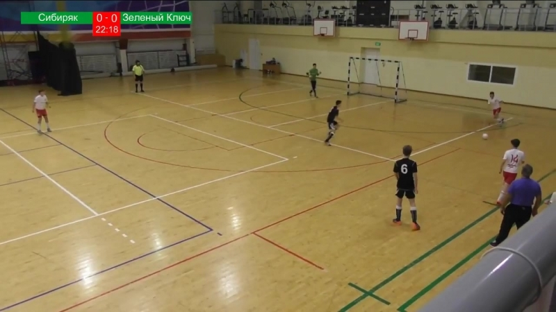 Зеленый ключ - Сибиряк (Новосибирск) - 4:0. Матч целиком