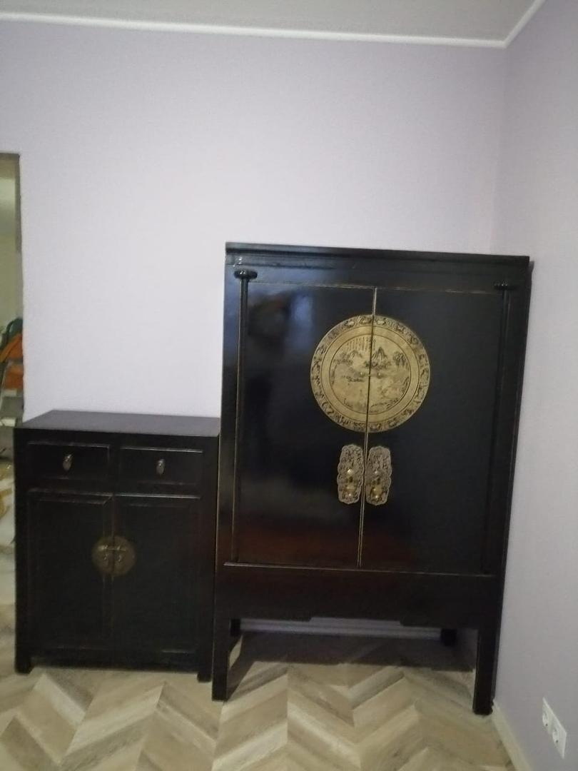 Черный китайский шкаф Китайщина