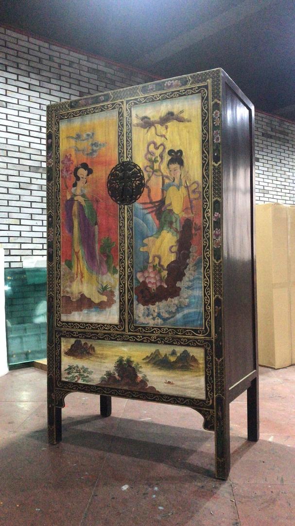 Желтый шкаф Китайщина