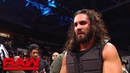 The Kingslayer Seth Rollins exits the arena following Ambrose assault Raw Exclusive Oct 22 2018