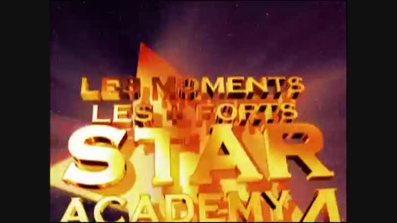 2004.12.23 [TF1] Star Academy 4 Les Moments Les Forts