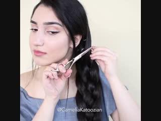 Сколько же у неё волос!!!