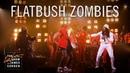 Выступление Flatbush ZOMBiES с треком «Headstone» на шоу Джеймса Кордена