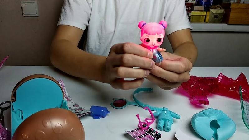 Распаковка капсулы с куклой Лол Under Wraps