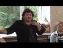Мастер класс Техника народного вокала Работа над постановкой голоса у народного исполнителя ведущего специалиста доцента ка