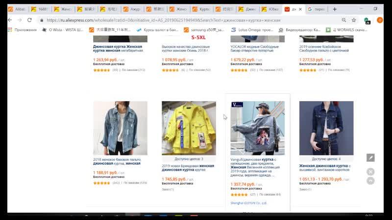 Обзор рынка по сайту женской одежды и обуви