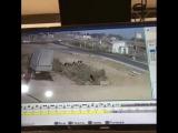 Видео момента аварии в Шамахале где погибли оба водителя