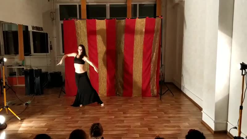 Milana. Tribal Fusion Improvisation. Tribal Universe Festival 2018 After-party