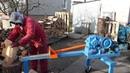Łuparka mechaniczna do drewna -Štípač dřeva- Holzspalter Nowe n/W