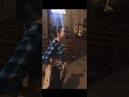 Malinda Kathleen Reese sings 'O Come, O Come, Emmanuel' in a church