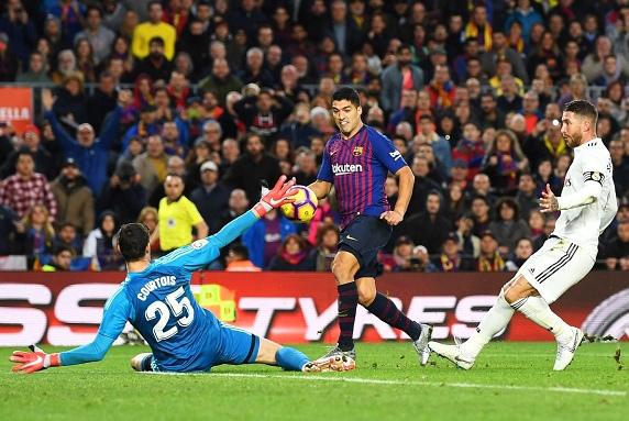 Barcelona Scored Five Goals Against Real Madrid