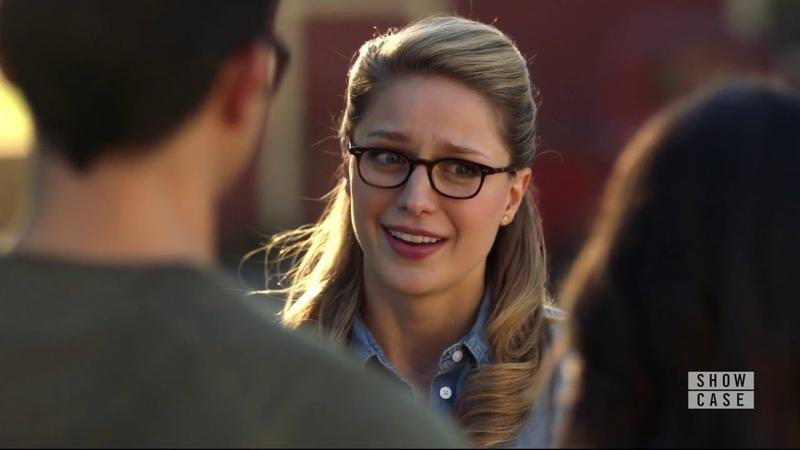 Supergirl 4x09 Kara, Clark Lois Scene