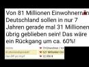 Viral 2025 Replacement Migration 60 der deutschen verschwinden und nur wenige wissen es