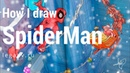Рисую Человека Паука
