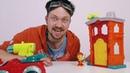 Спасатели Игрушек • АЛЕКС ГАРАЖ сдаёт экзамен на пожарной станции PlayDoh! - Мультики с игрушками для детей
