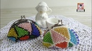 Monedero Multicolor a CROCHET