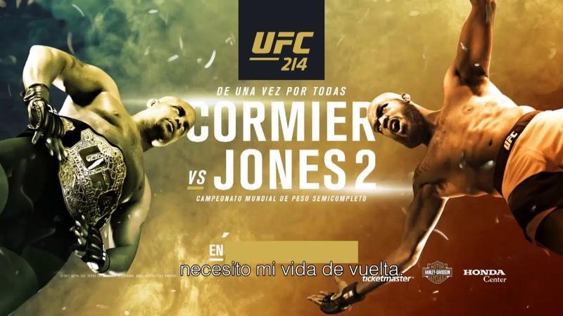 UFC 214: Cormier vs Jones 2 - Controla Tus Demonios