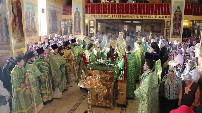 В Димитровграде молитвенно отметили день памяти небесного покровителя города Гавриила