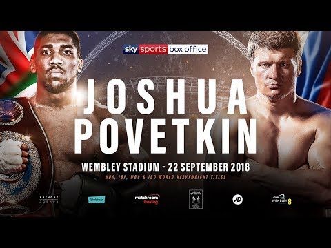 Off The Scales: Joshua vs Povetkin weigh-in