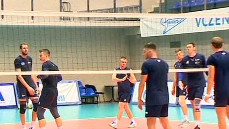 Волейбольный Зенит готовится к сезону