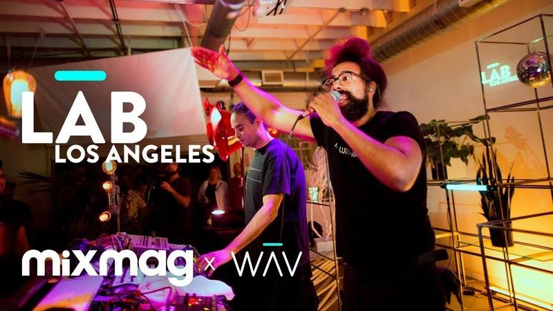 WAJATTA (Reggie Watts John Tejada) live in The Lab LA