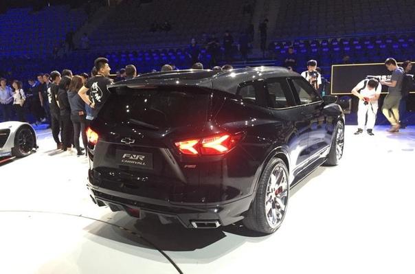 Новый кроссовер Chevrolet назвали в честь первого «Сабурбана».