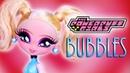 Custom Bubbles Doll POWERPUFF GIRLS 💙OOAK