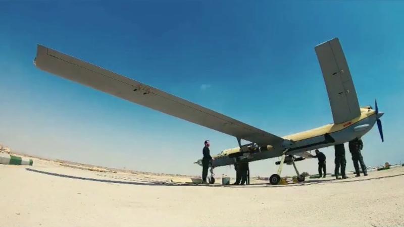 [HQ] Iran Drone Swarm - Beit ol Moghaddas 1 Exercise