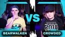 BEARWALKEN vs CROWDED 1/4 FINAL KRUMP vs X BTA BATTLE