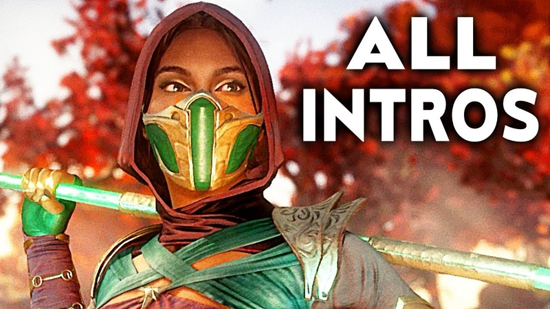 MORTAL KOMBAT 11 Jade All Intros Dialogue Character Banter MK11
