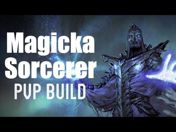 Magicka Sorcerer PVP Build - ANNIHILATOR - ESO Murkmire