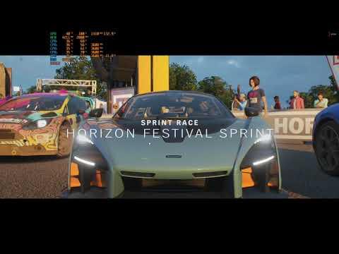 Forza Horizon 4 Benchmark__i5 7500__RX580 8GB__16GB Ram