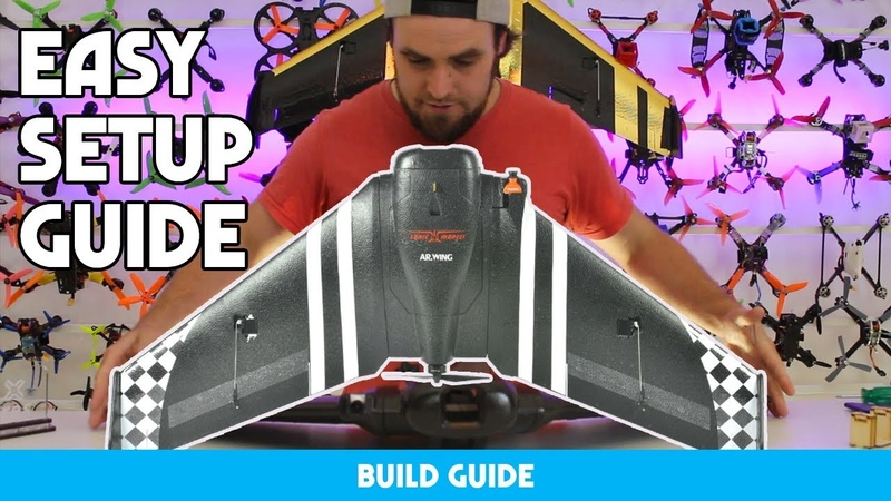 HOW TO BUILD A BEGINNERS FPV WING IN 15 MINS - EASY GUIDE
