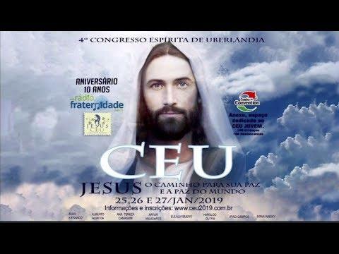 4º Congresso Espírita de Uberlândia Divaldo Franco - JESUS, O Caminho para sua paz e a paz do mundo