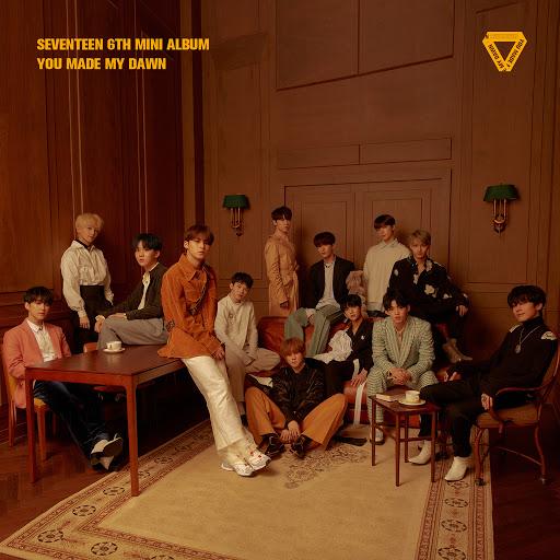 Seventeen альбом SEVENTEEN 6TH MINI ALBUM 'YOU MADE MY DAWN'