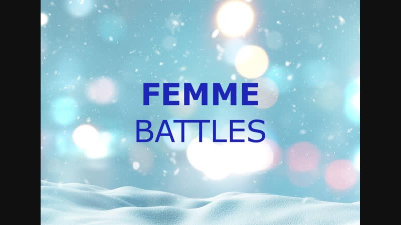 FEMME | BATTLES | FROZEN VOGUE BALL