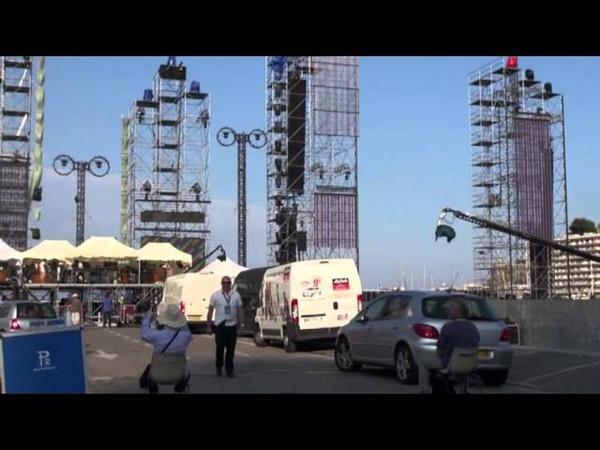 Jean Michel Jarre - Monaco Reharsals 30/6/11