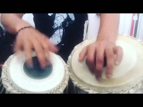 Karsh Kale - practicing - tabla - at - home /. Instagram clip compilation