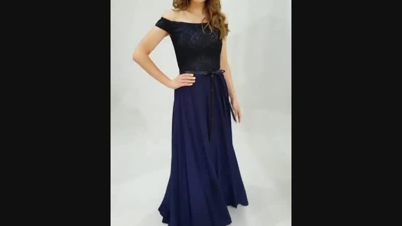 42-82 Вечернее платье