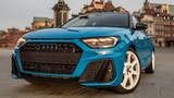 Is the NEW 2019 AUDI A1 BEST IN CLASS Rocking the streets of Warsaw, in detail (Edition one)