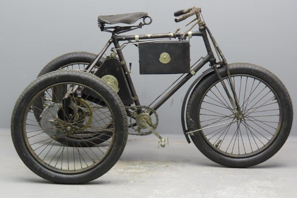 Трехколесный мопед De Dion-Bouton 1897