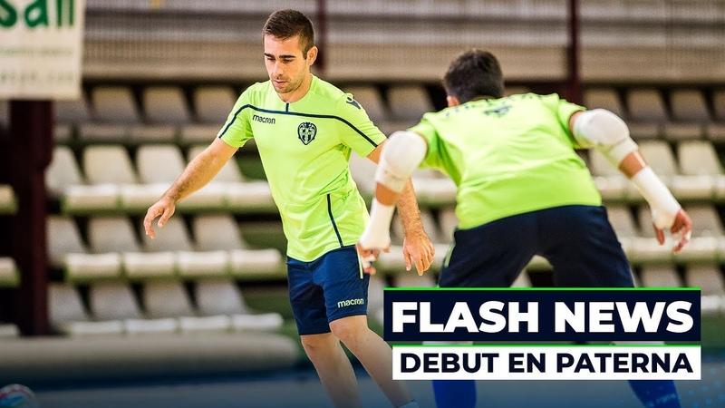 FLASH NEWS | Cecilio Morales habla antes del debut en Paterna ante Movistar Inter