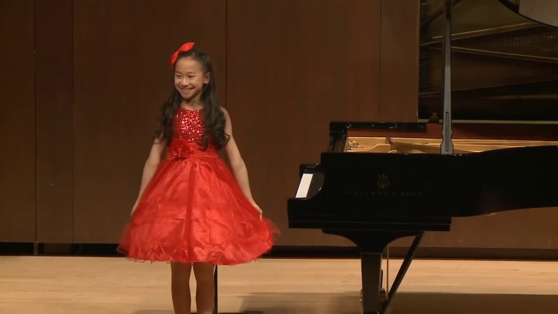 Harmony Zhu (age 11) - Chopin Scherzo No. 2 in B-flat minor, Op. 31