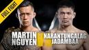 Martin Nguyen vs. Narantungalag Jadambaa | ONE: Full Fight | Flying Knee KO | April 2019