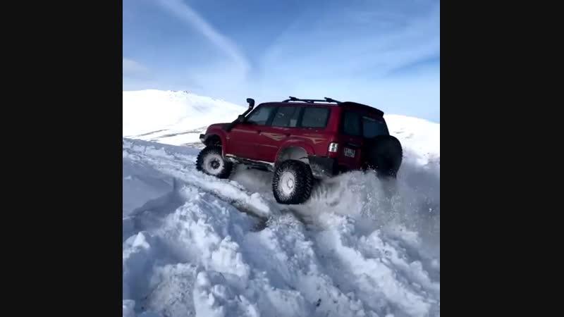 M57 snow test swap patrol