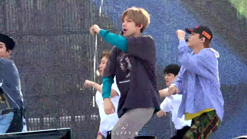 [4K] 180909 엑소 첸백시 EXO-CBX 스펙트럼 SPECTRUM Dance Music Festival - Hey Mama - Baekhyun 백현 Focus 직캠