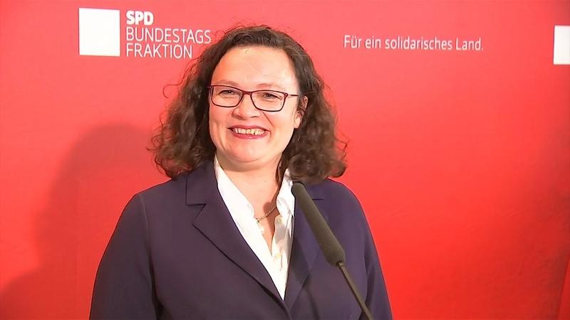 """Nahles will """"Parlamentskreis Pferd"""" gründen – und wird prompt von Häme überhäuft"""