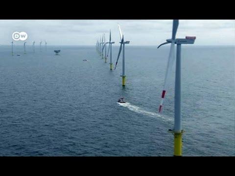 Windräder mit Dieselantrieb Offshore Park nicht am Netz Made in Germany